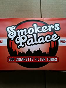 Smokers Palace Cigarette Tubes Full Flavor 100mm (200 Tubes Per Box) 5 Boxes