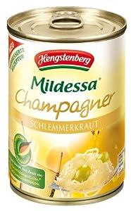 Hengstenberg Champagne Sauerkraut, 14.1-Ounce Tins (Pack of 6) from Hengstenberg