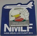 水樹奈々 【LIVE FLIGHT 2014】 ピンズ 福岡会場1日目限定