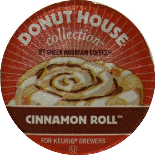 Donut House Collection Coffee, Cinnamon Roll,