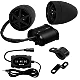 BOSS AUDIO MCBK600B Black 800 watt Motorcycle/ATV Sound System, Bluetooth Audio, 3