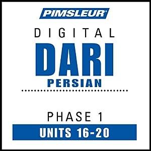 Dari Persian Phase 1, Unit 16-20 Hörbuch