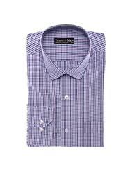 Today's Men Men's Formal Shirt Double Fused Collar ( Multi-Coloured ) - B00RYW589K