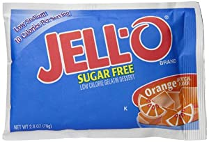 Jell-O Sugar Free Gelatin Dessert, Citrus Assorted, 2.80-Ounce Packages (Pack of 3)