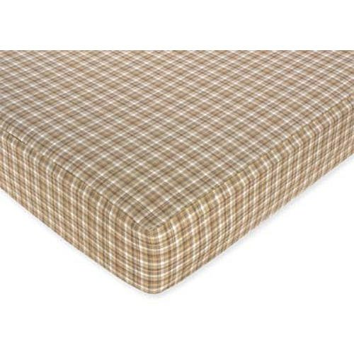 Plaid Crib Sheets front-821029