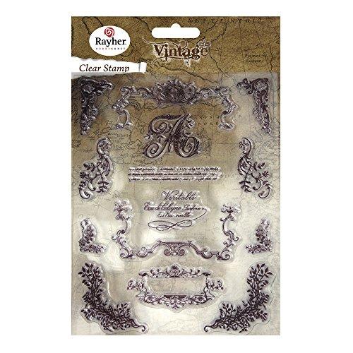 rayher-57784000-clear-stamp-timbri-decorativi-1-73-cm-15-pz-decorazioni-vintage