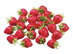 Silk Plants Direct Large Strawberry (Pack of 1)