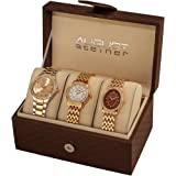 Set de 3 relojes para dama August Steiner Women's AS8063RG