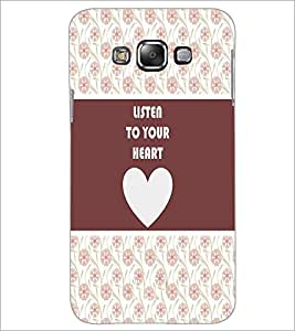 PrintDhaba Quote D-3775 Back Case Cover for SAMSUNG GALAXY A7 (Multi-Coloured)