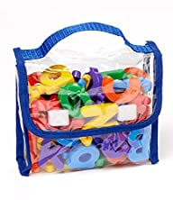 EduKid Toys Magnetic Letters and Numb…