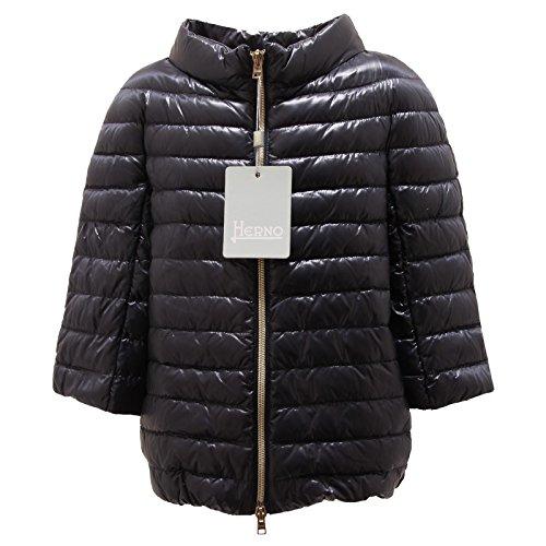 4805P piumino blu bimba manica Ÿ HERNO short sleeves jacket kids [10 YEARS]