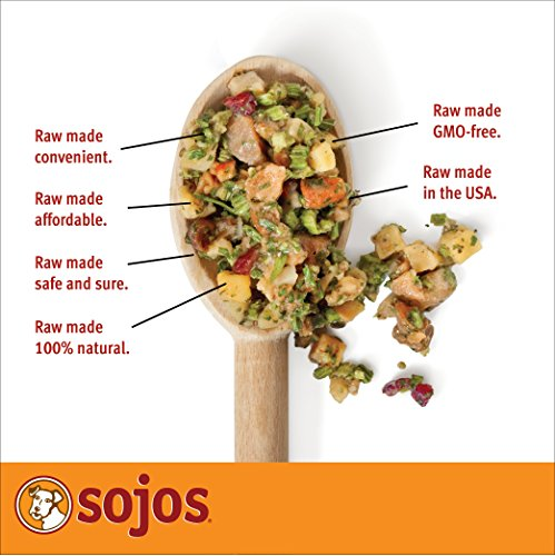 Sojos Complete Grain Free Freeze-Dried Turkey Raw Natural Dry Dog Food Mix, 8-Pound Bag_Image4