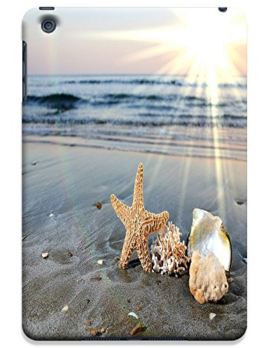 Fantastic Faye Cell Phone Cases For Ipad Mini No.15 The Fashion Design With Warm Sunshine Beach Blue Sky Clean Water Sea Star Beautiful Shell Slipper