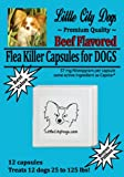 Flea Killer Capsules for Dogs - 57 Mg Nitenpyram Per Capsule ...Same Active Ingredient As Capstar - 14 Capsules Treat 14 Dogs 25 to 125 lbs