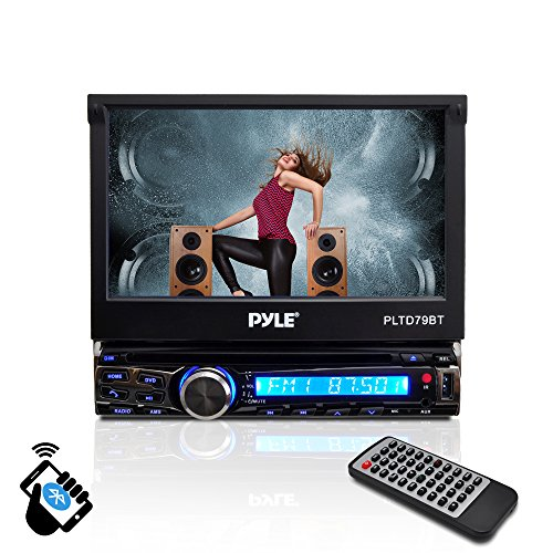 -inch Motorized Wireless Bluetooth Streaming Touchscreen DVD/CD/USB/SD/MP4/MP3