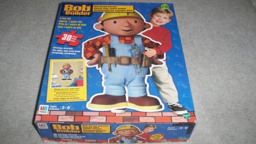 Cheap Hasbro Bob the Builder Kid Sized Puzzle – 30 Pieces and 3 Feet Tall (B0029KAK3G)
