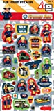 Fireman Sam Birthday Party Stickers - Loot Bag Filler