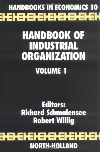 Handbook of Industrial Organization (Handbooks in Economics)