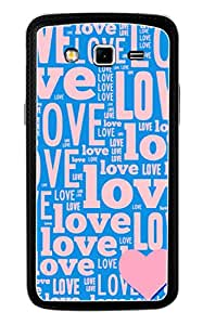Generic Mobile Case for Samsung Galaxy Grand 2 (Blue and Pink)