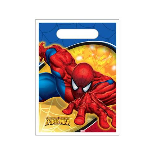 Spider Sense Spider Man Treat Sacks 8 Pack
