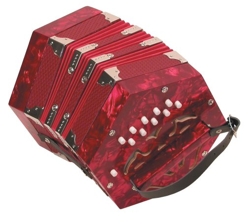 Trinity College AP-20 Anglo Concertina with 20 keys,packaging may vary