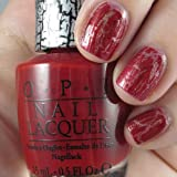 OPI Red Shatter Crackle Nail Polish E55 New