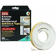 Do it Best X-Treme Rubber Weatherseal Tape-3/8X1/8