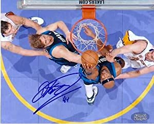 Dirk Nowitzki autographed 8x10 Photo (Dallas Mavericks) by Autograph Warehouse
