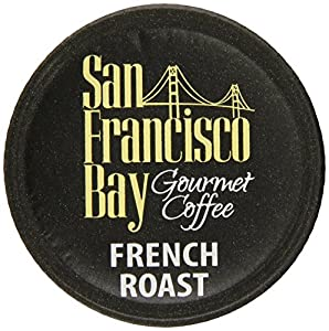 San Francisco Bay Coffee, French Roast, 120 OneCup Single Serve Cups