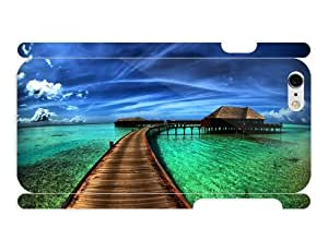 Beach - Pier In The Maldives 3d full wrap: Cell Phones & Accessories