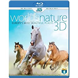 WORLD'S NATURE 3D - Europe's most beautiful Places (Blu-ray 3D &amp; 2D Version) REGION FREE
