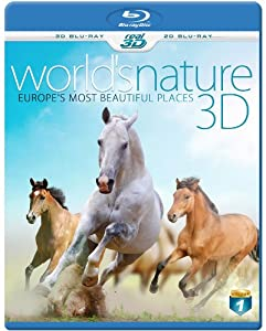 WORLD'S NATURE 3D - Europe's most beautiful Places (Blu-ray 3D & 2D Version) REGION FREE