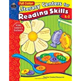 Full-Color Literacy Centers for Reading Skills ~ Dede Dodds