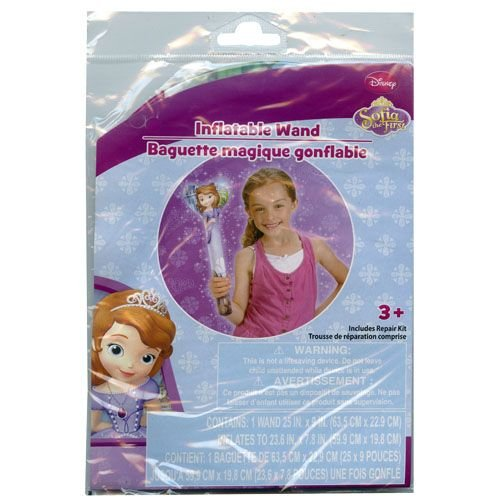 WeGlow International Sofia the First Inflatable Wand (Set of 2) - 1