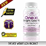 One XS Weight Loss Pills Extra Strength Appetite Suppressant and Fat Burner. No Prescription Needed. 30ct - 1 month supply.
