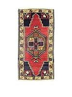L'EDEN DEL TAPPETO Alfombra Yastik Rojo/Multicolor 50 x 97 cm