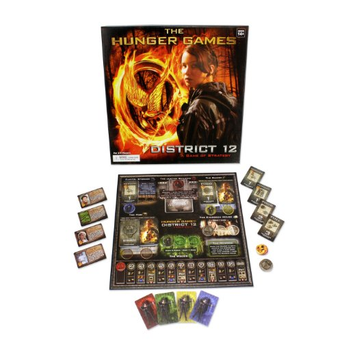 The Hunger Games Movie The District 12 Strategy Game - 1