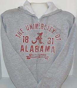 NCAA Officially Licensed University of Alabama Crimson Tide Fleece-Lined Sweatshirt (Size XX-Large)