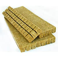 Stacky Rockwool Cubes (1.5 Inches) - The Best Growing Medium - Packs of 30, 48, & 98 Grow Blocks