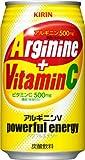 キリン アルギニンVパワフルエナジー 350ml缶×24本