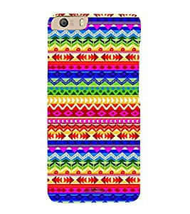 Different Color Pattern 3D Hard Polycarbonate Designer Back Case Cover for Micromax Canvas Knight 2 E471