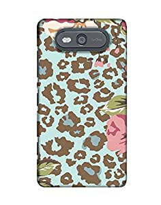 Pick Pattern Back Cover for Nokia Lumia 820 (Matte)