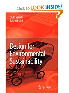 Design for Environmental Sustainability - Carlo Arnaldo Vezzoli Ezio Manzini