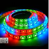 IWORLD Water Proof Smd Strip Led Light With Free Output Driver And Power Cord, Multi-Color