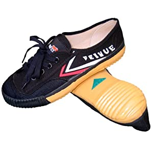 Tiger Claw Feiyue Martial Arts Shoes - Black - Size 33