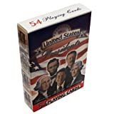 Presidents of the United States Playing Cards - Deck of 54 Cards