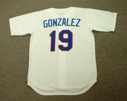 JUAN GONZALEZ Texas Rangers 1993 Majestic Cooperstown Throwback Home Baseball Jersey, MEDIUM at Amazon.com