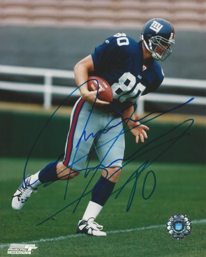 Autographed Jeremy Shockey New York Giants 8x10 photo at Amazon.com