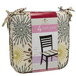 Clara Clark Chair Cushion Pads With Corner