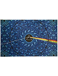Sunshine Joy 3D Pink Floyd The Dark Side Of The Moon Tapestry Lyrics Blue 60x90 Inches
